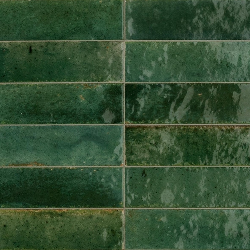 Lume green subway tiles