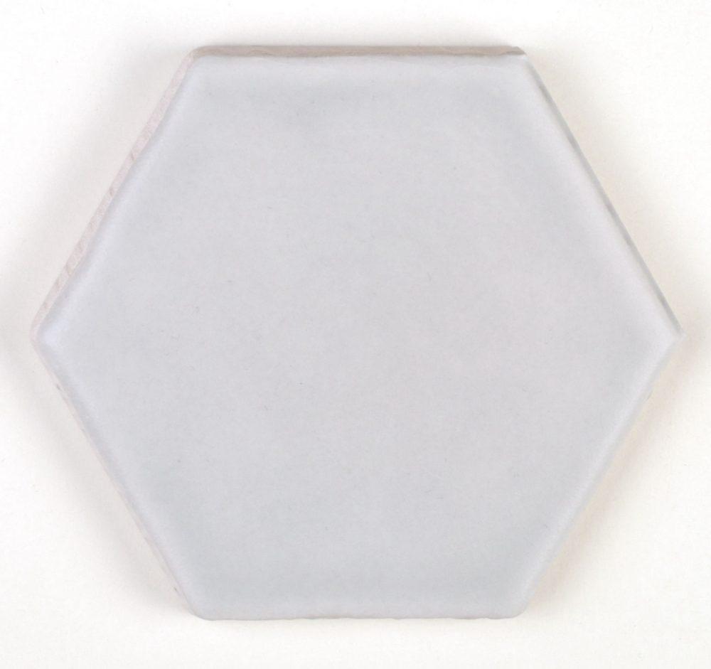 Art Deco Hex Cement Grey Matt Tiles