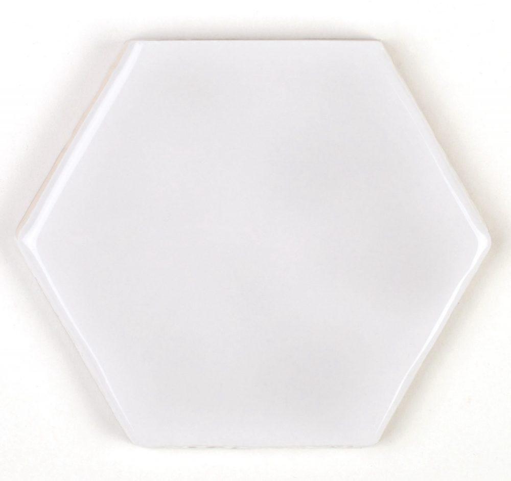 Art Deco Hexagon Arctic Tiles