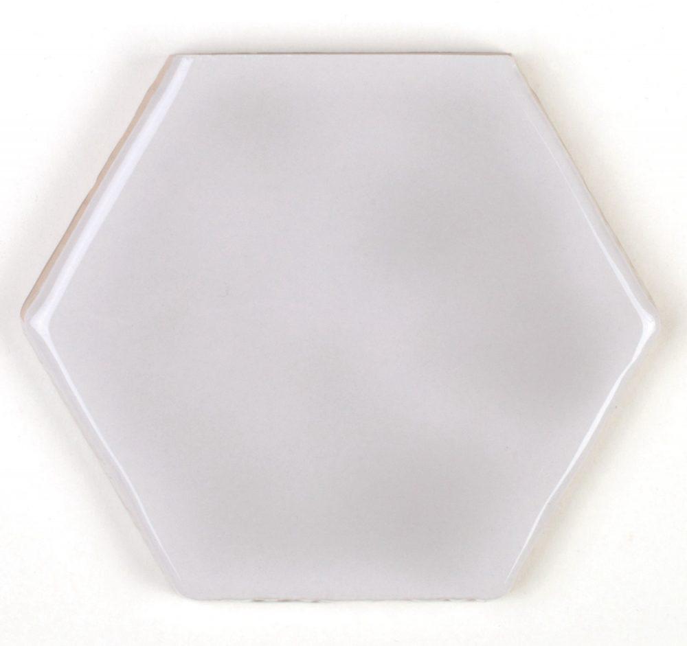Art Deco Hexagon Hibiscus Tiles