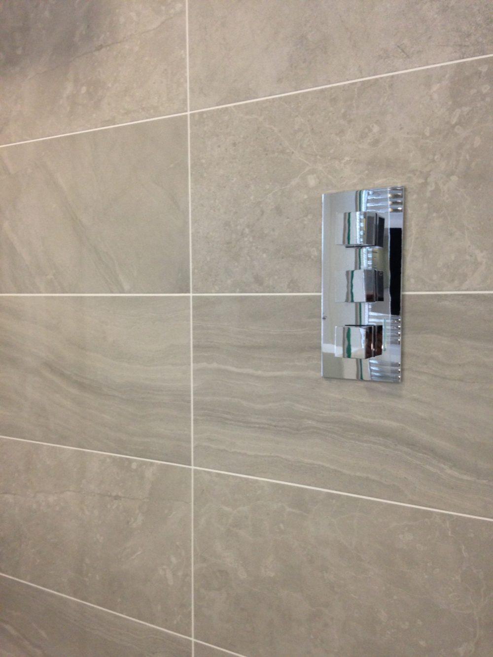 Blast wall tiles
