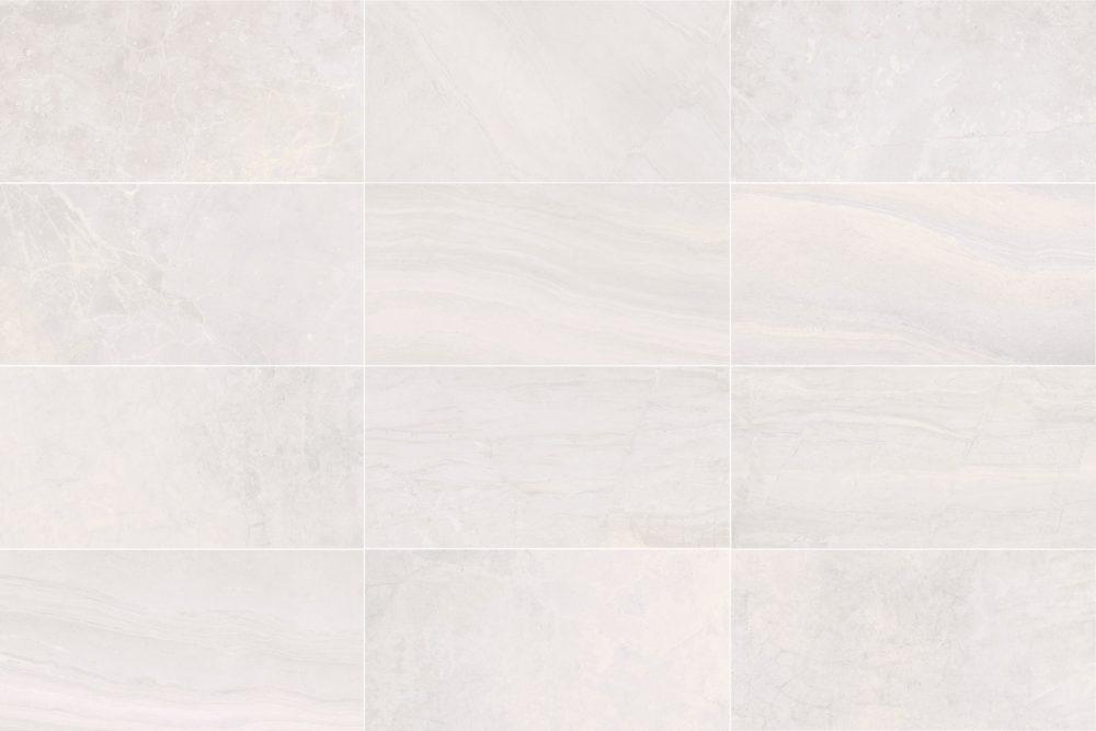 Blast oblong white floor Tiles