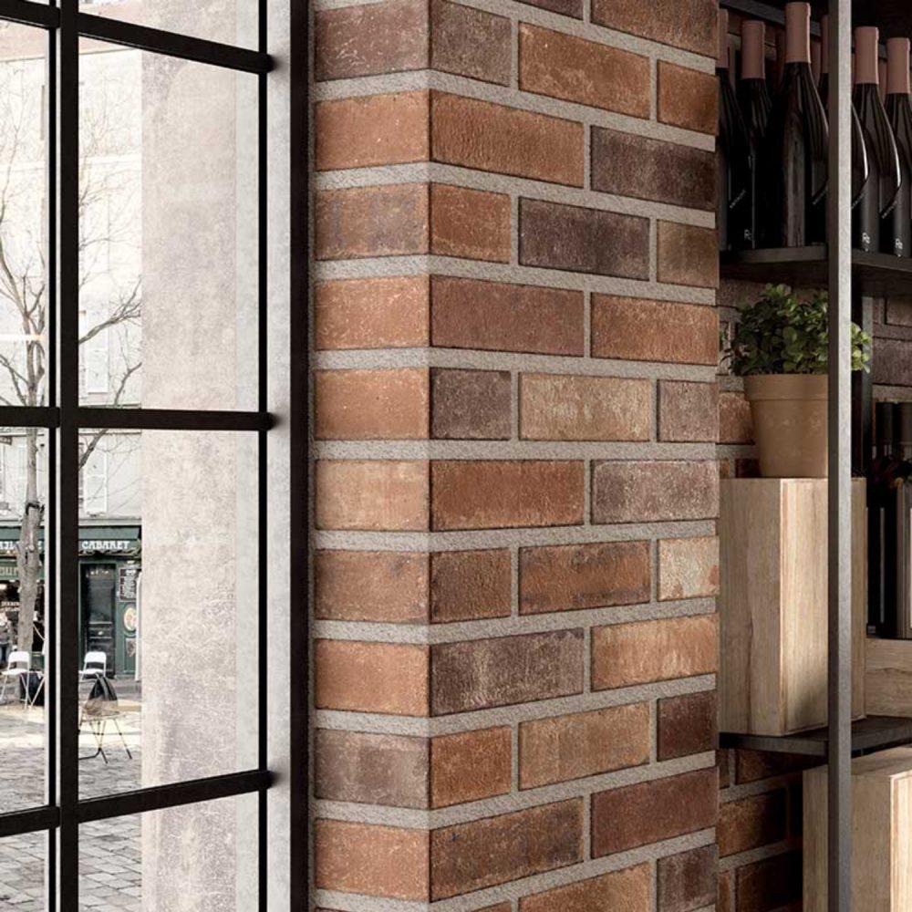 brick wall porcelain tiles