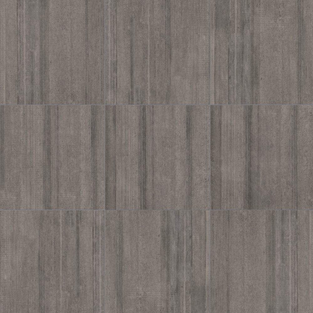 cemento shaved cement effect tiles in dark grey