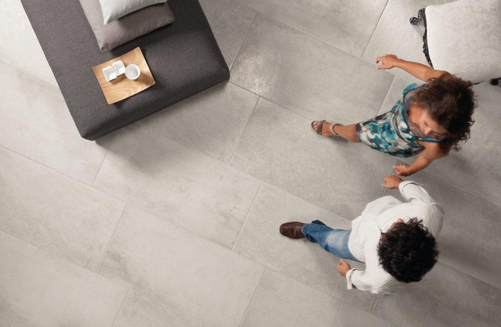 Chateaux Grey Floor Tiles