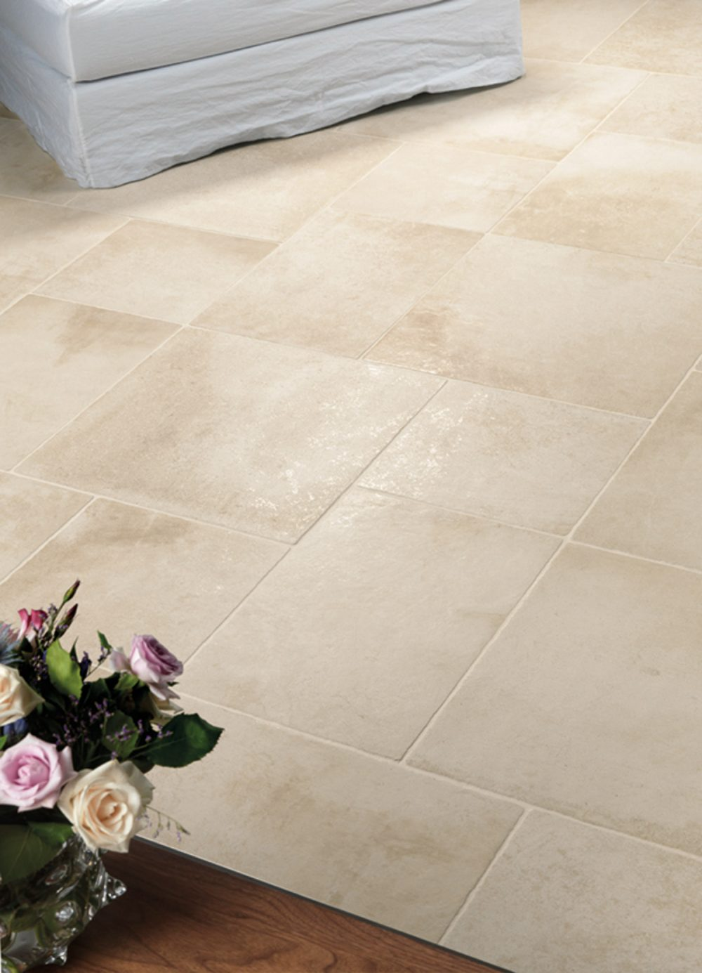 Chateaux Cream Wall & Floor Tiles - multi size