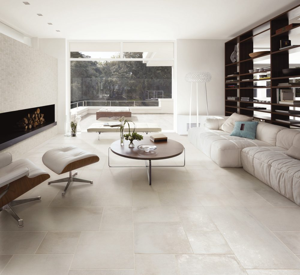 Chateaux White Wall & Floor Tiles