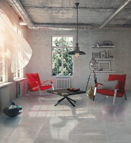 Ground Grey Lappato Floor