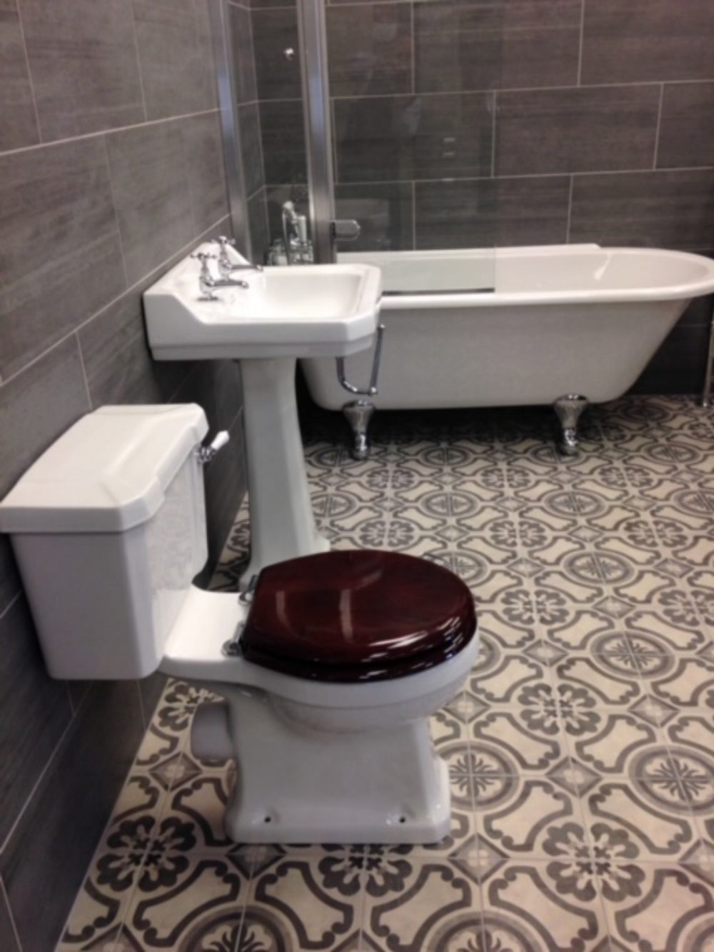 Antres patterned tiles - victorian tiles