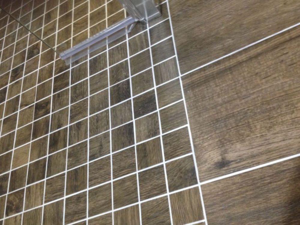 Treverk Mosaic wood effect tiles