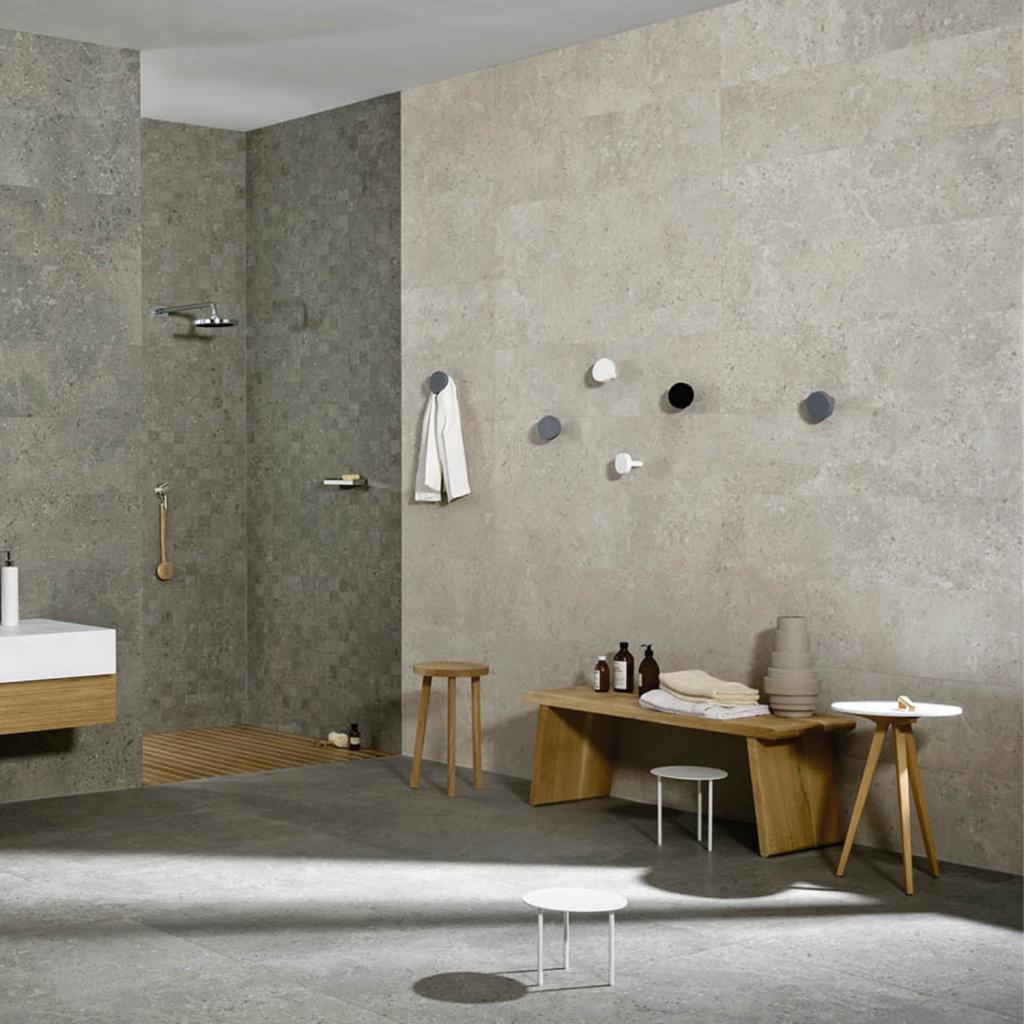 Gris Fleury Bianco tiles