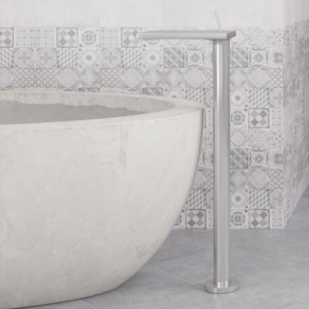 Abitare Decor - grey patterned wall tiles
