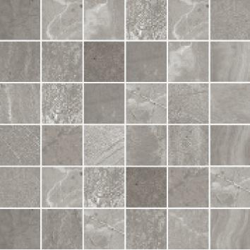 Blast Antracite Grey Mosaic Tiles