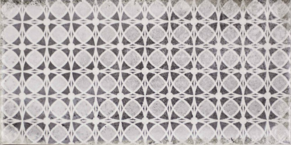 Harewood patterned worn look metro tiles