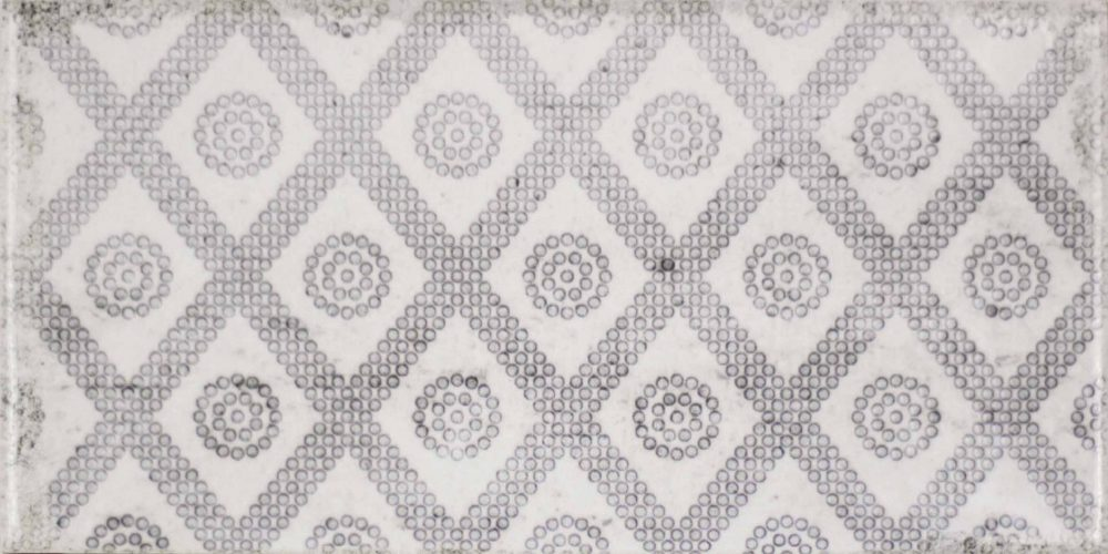 Harewood grey patterned worn look metro tiles