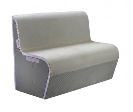 Steam/Wetroom Bench Curved Back Rest