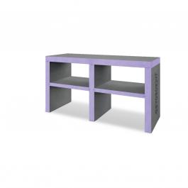 Modula D 1600 Washstand for double countertop basins