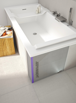 Wabo Side Bath Panel 1850X600