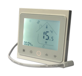 Warmtoes Touchscreen Programmable Thermostat White