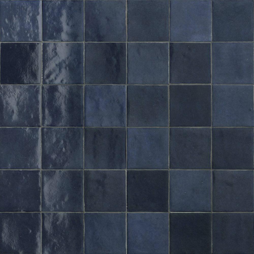 blue zellige tiles