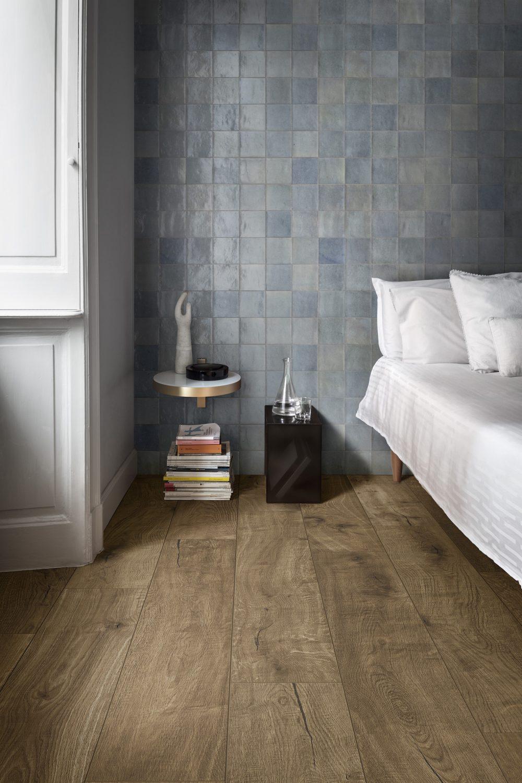 pale blue zellige wall tiles