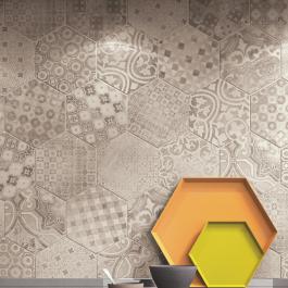 Rewind Cementine Hexagon Décor