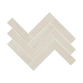 Herringbone Wood White