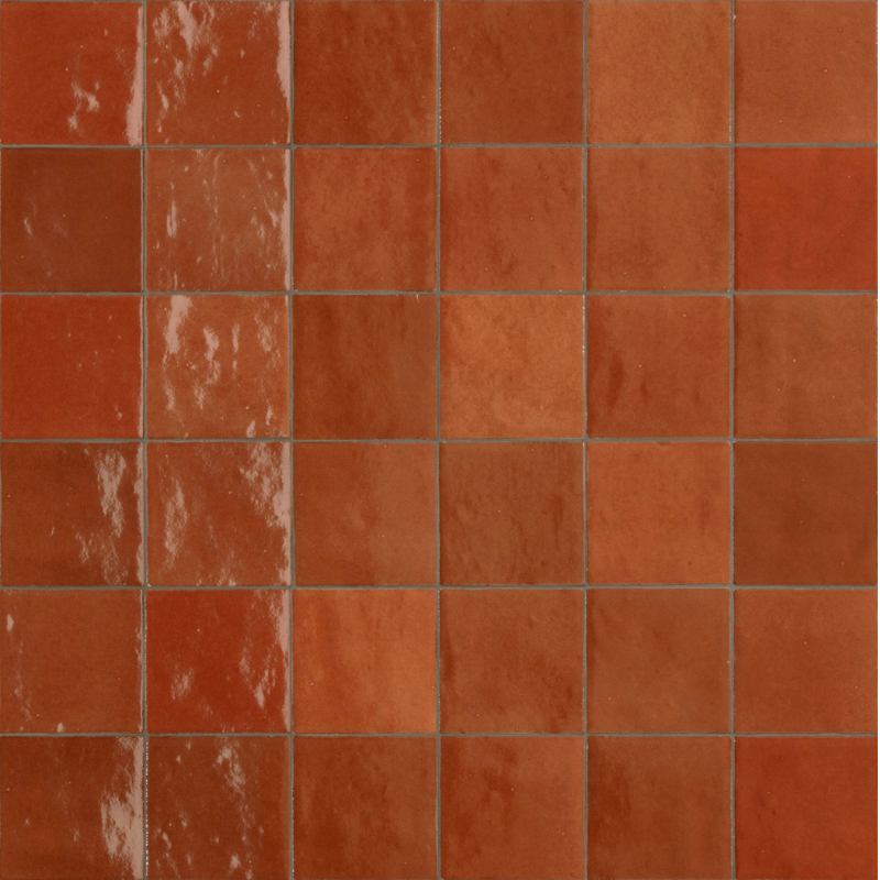 Zellige Tiles - corallo tiles by Tiles and Mosaics