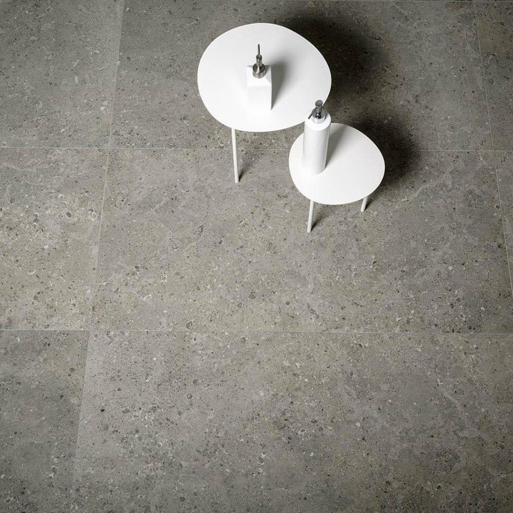 Gris Fleury Stone Effect Tiles